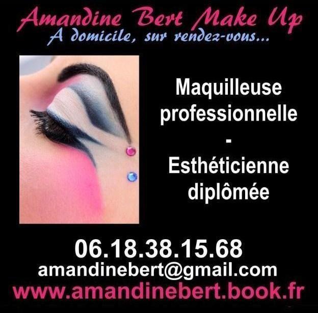 Amandine Bert Make Up - Esthéticienne Maquilleuse à domicile